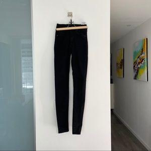 mile high super skinny levi's jeans black